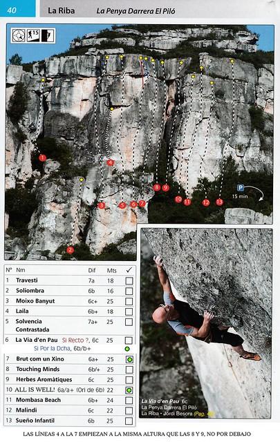 La Riba -03- Penya Roja y La Xina 08 - Darrera Piló Suicida (Tarragona C2)
