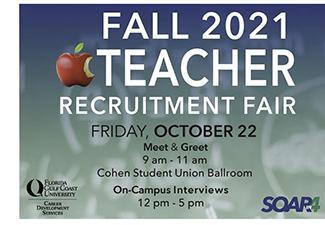 FALL TEACHER RECRUITMENT FAIR 2021