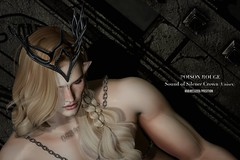 POISON ROUGE Sound of Silence Crown (Unisex) @We <3 Role-Play