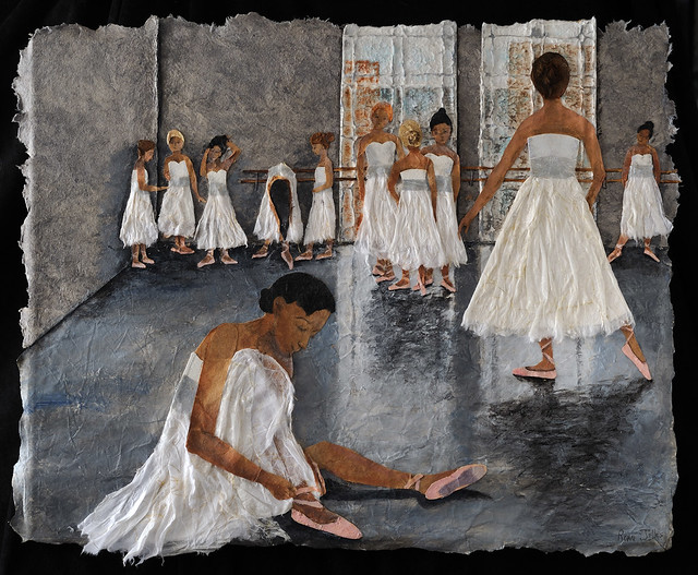 Collage - Ballet Shoes