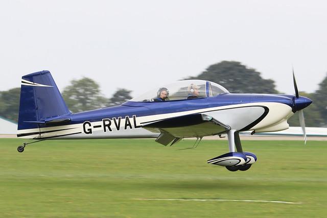 G-RVAL Vans RV-8 c/n PFA 303-13532  -  EGBK 4/9/21