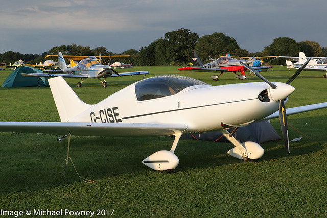 G-CISE - 2015 build Aero Designs Pulsar XP, at Sywell during the 2017 LAA Rally