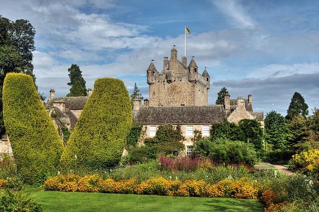 Cawdor Castle and Gardens, Cawdor, Inverness-shire, Highland, NC500, Scotland, UK