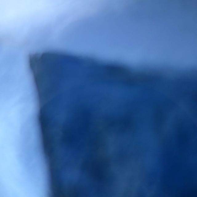 Un coin bleu