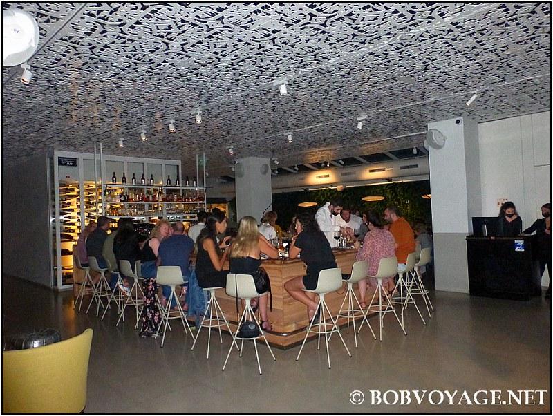 הבר ב- מסעדת משייה (Mashya)