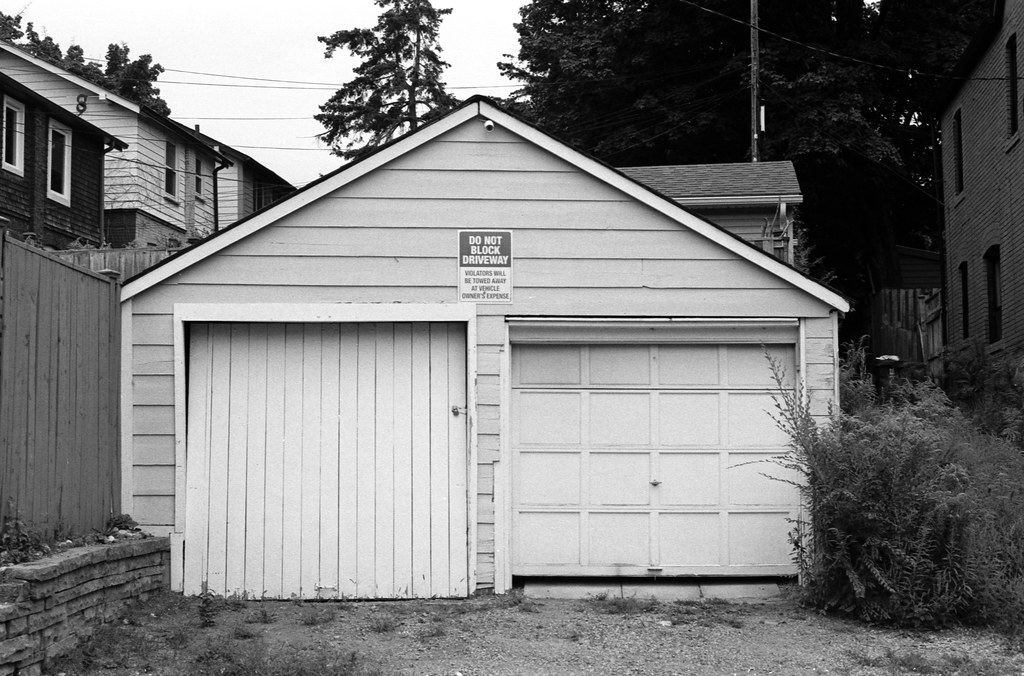 Mis Matched Garage Doors