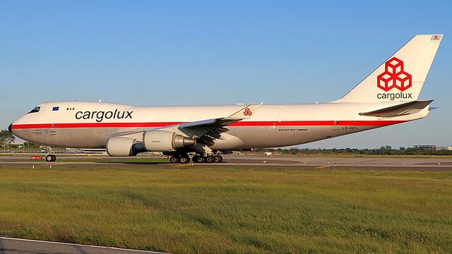 LX-NCL | Boeing 747-4EVFER | Cargolux