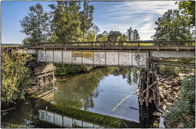 Gilkey Railroad Bridge