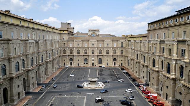 Cortile del Belvedere / Vaticaanstad