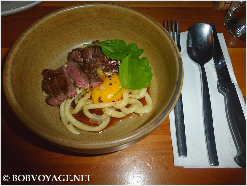 סקירט ופיצ'י ב- מסעדת משייה (Mashya)
