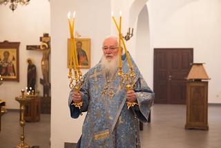 08.09.2021 | Божественная литургия в Юрьевом монастыре