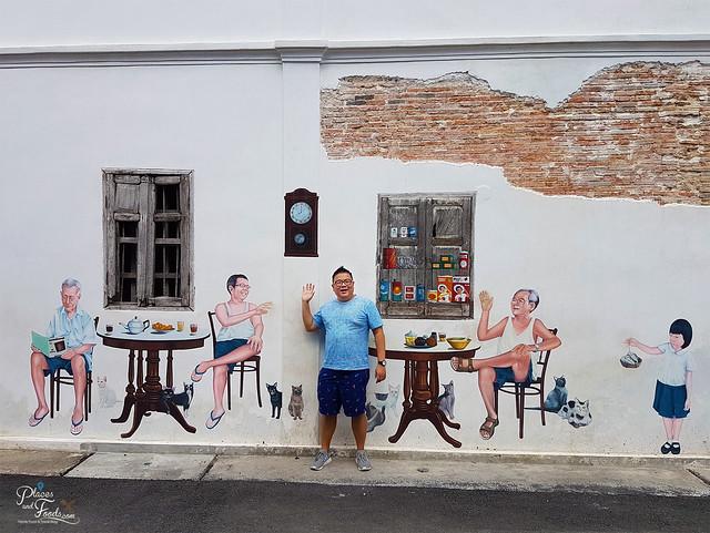 songkhla old town street art