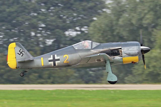 G-SYFW/7334  -  WAR Focke-Wulf 190 c/n PFA 081-10584  -  EGBK 4/9/21