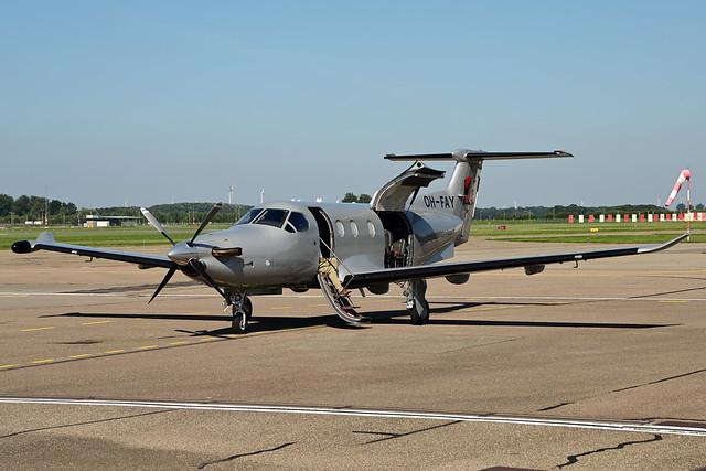 OH-FAY PC12/47E c/n 1522 Fly 7 Finland 210908 Lelystad 1002