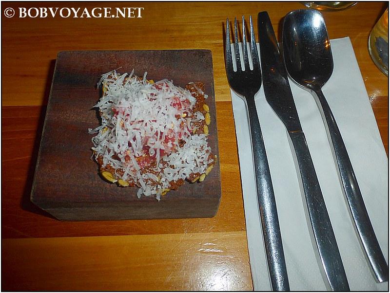 שיפון טרטר ב- מסעדת משייה (Mashya)