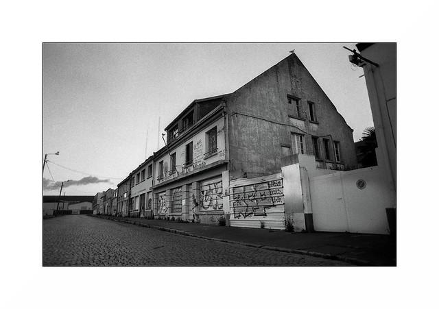 Lorient, zone portuaire