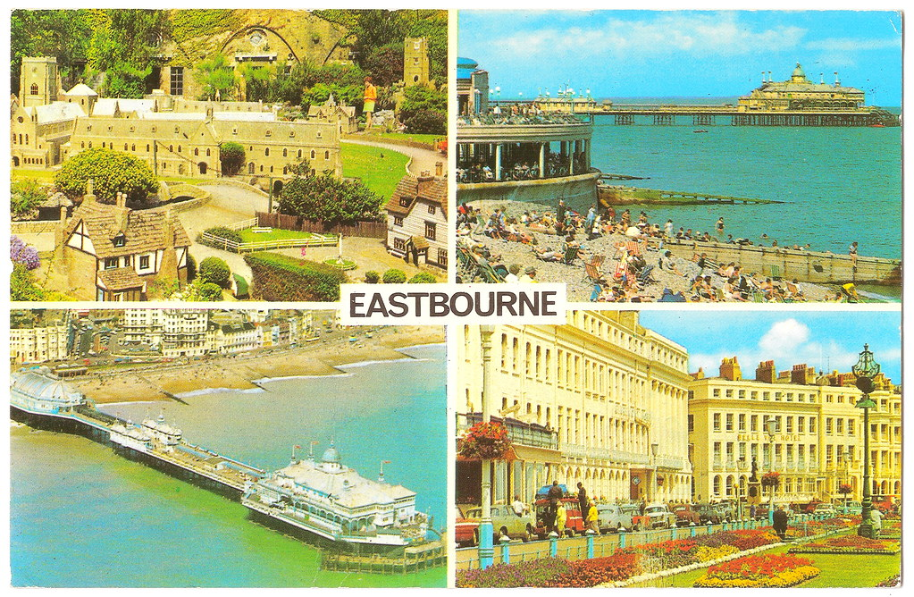 Eastbourne - Multiple Scenes Prior to 1972. And a Surfing Filmmaker.