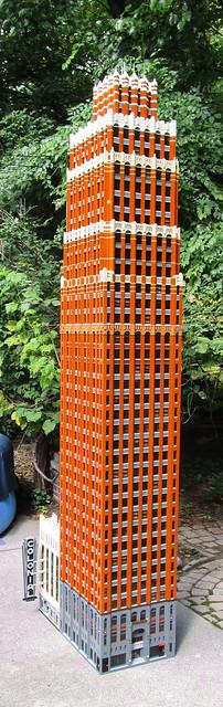 David Stott Building, Detroit - LEGO model