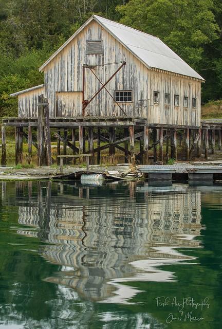 Old Net Loft or Processing plant - Rough Bay, Malcom Island