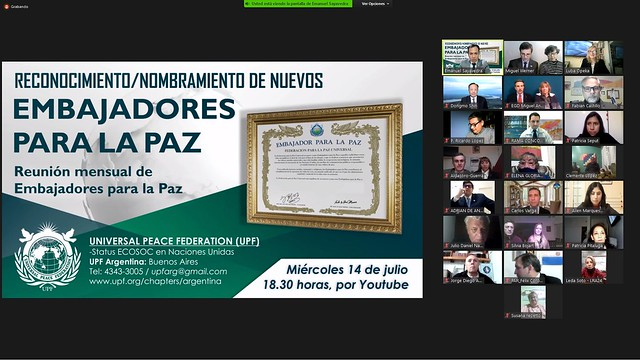 Argentina-2021-07-14-Native Leader named an Ambassador for Peace by UPF Argentina