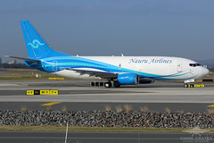 VH-YNU B733F NAURU AIRLINES