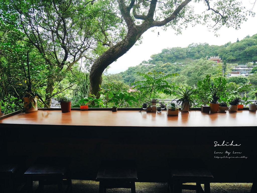 內湖白石湖附近隱藏版美食茗穀屋烘培坊蛋糕甜點下午茶便宜cp值高景觀餐廳 (1)