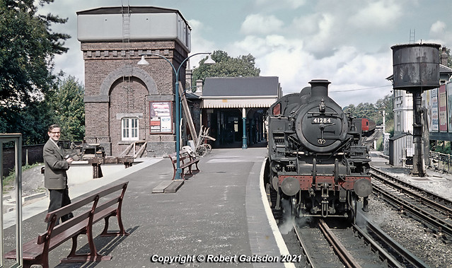 1961 - Chesham Shuttle at the End of Steam...