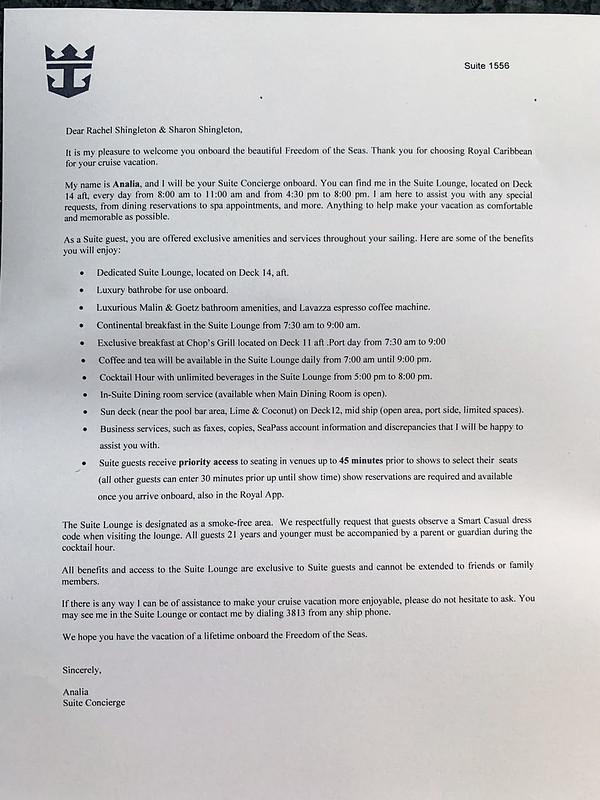 Suite Letter