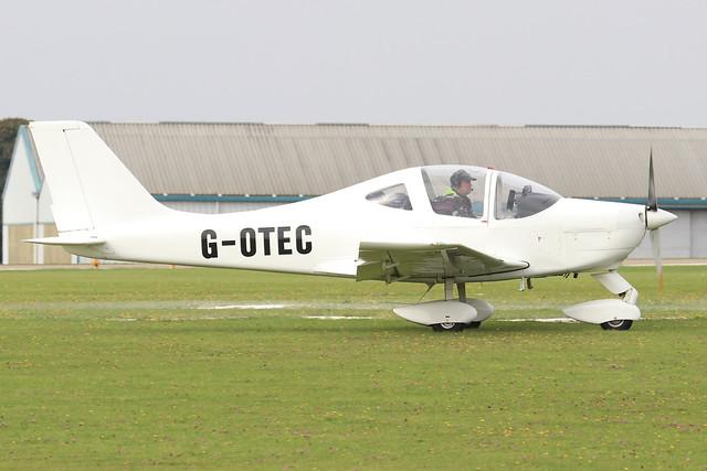 G-OTEC  -  Tecnam P.2002 Sierra EA c/n LAA 333-14950  -  EGBK 4/9/21
