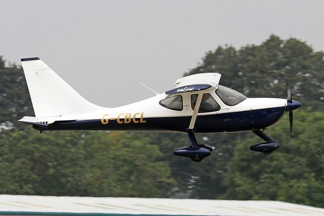 G-CBCL  -  Glasair GlaStar GS-1 c/n PFA 295-13089  -  EGBK 4/9/21