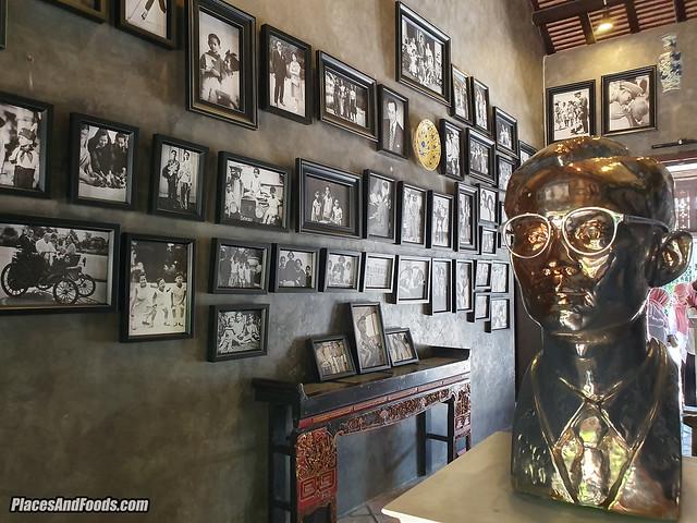 Baan Nakhon Nai Museum king rama ix sculpture