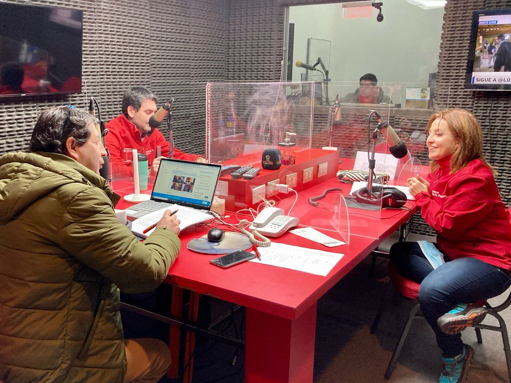 Subsecretaria María Paz Troncoso, sostiene entrevista en la Radio Condell en la comuna de Curicó l 09.08.2021