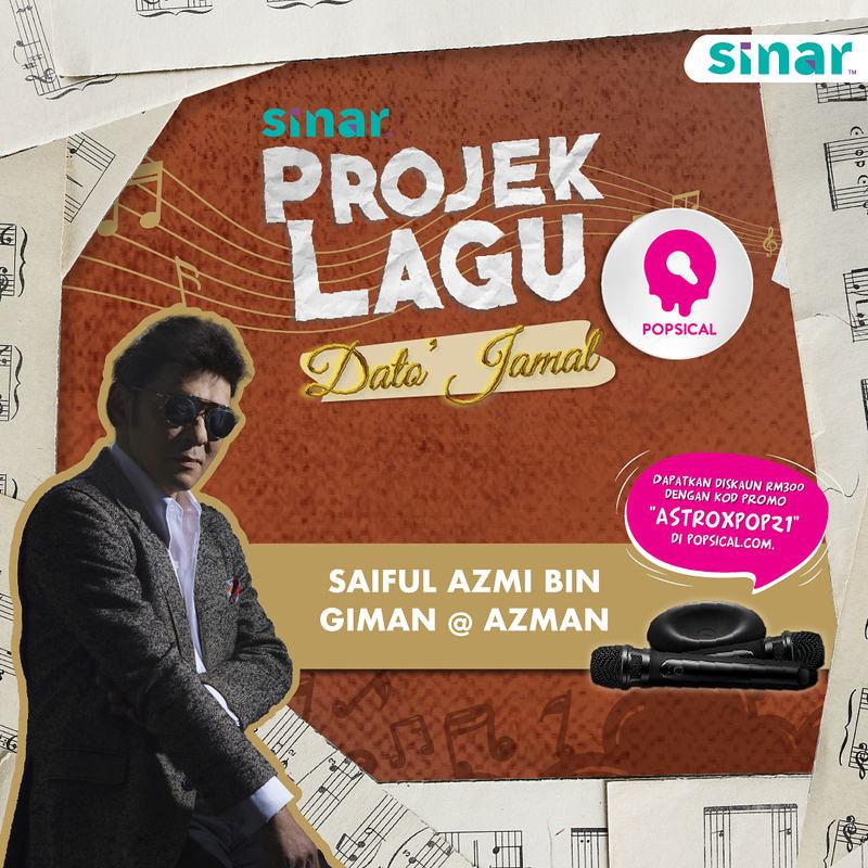 Sinar Umum Senarai Pemenang Pertandingan Projek Lagu Dato' Jamal Abdillah Di Sinar