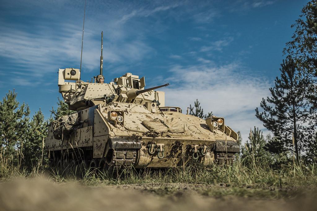 """Visā Latvijā notika Nacionālo bruņoto spēku militārās mācības """"Namejs 2021"""""""