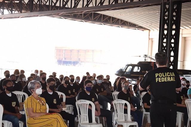 Polícia Federal Construindo Valores- #façasuaparte
