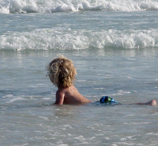 A Child's Love of the Sea