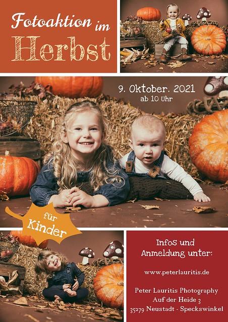 Kinderfotoaktion im Herbst - DATEIEN gibt's geschenkt!!!!