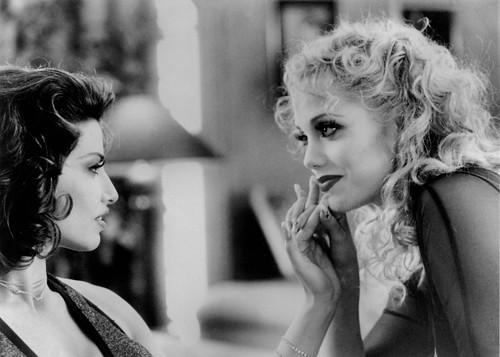 Gina Gershon and Elizabeth Berkley in Showgirls (1995)4,