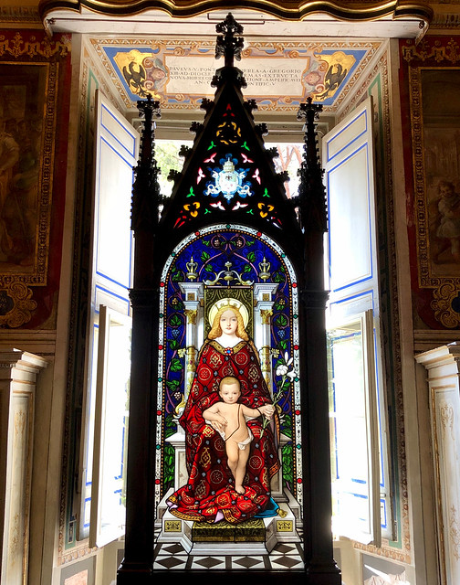 Glas-in-Lood / Vaticaan Museum / Vaticaanstad