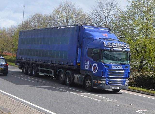 A D Harvey PX60 BKO At Welshpool