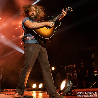 My Morning Jacket perform at Merriweather Post Pavilion in Columbia, MD.