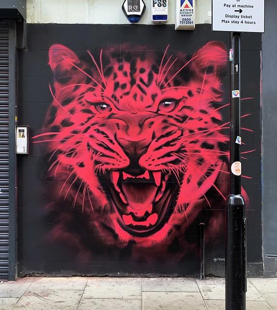 Neon Tiger! Shoreditch 2021