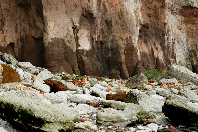 An abstract from Hunstanton Cliffs
