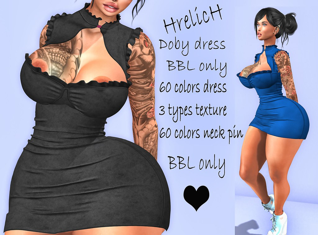 HrelicH Doby dress BBL only