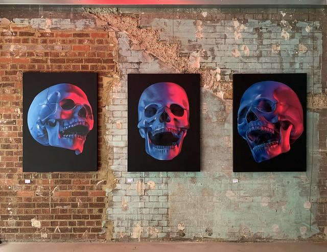 Skull Left Facing, Skull .... ,Skull Right Facing