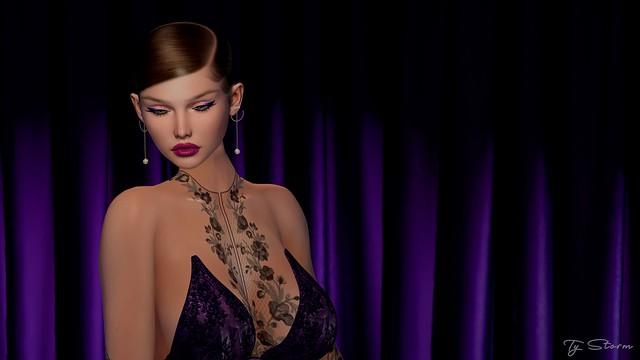 Lace & purple