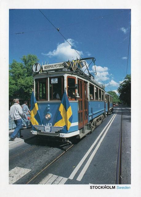 Sweden - Stockholm tramway