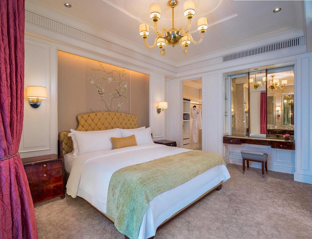 The St. Regis Singapore, Caroline Astor Suite Bedroom