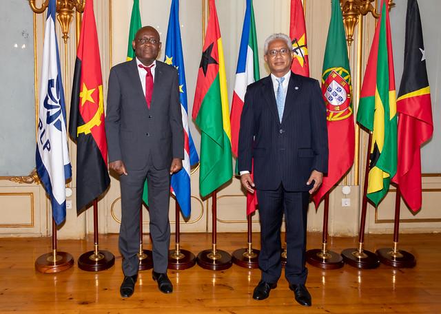 21.09. Secretário Executivo recebe Embaixador de São Tomé e Príncipe junto da CPLP