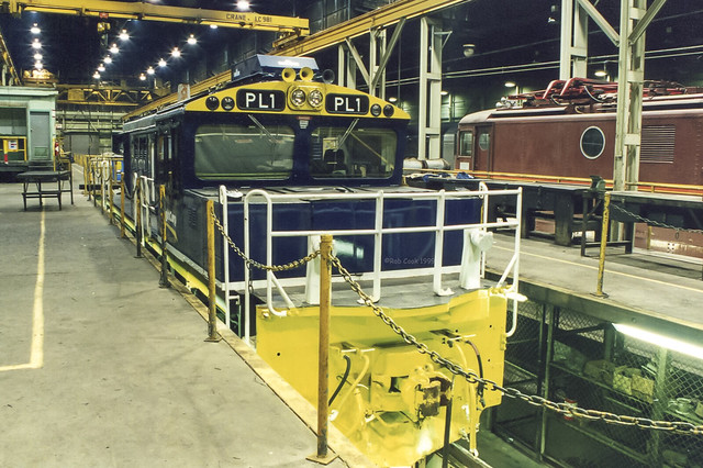 Inside the shed. (scan)